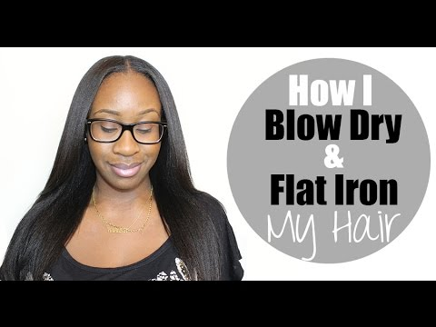 Hairlicious Inc.: How I Blow Dry & Flat Iron My Hair