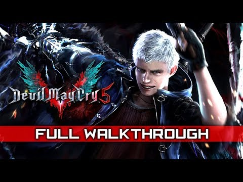 DEVIL MAY CRY 5 – Full Gameplay Walkthrough / No Commentary 【Full Game】 thumbnail