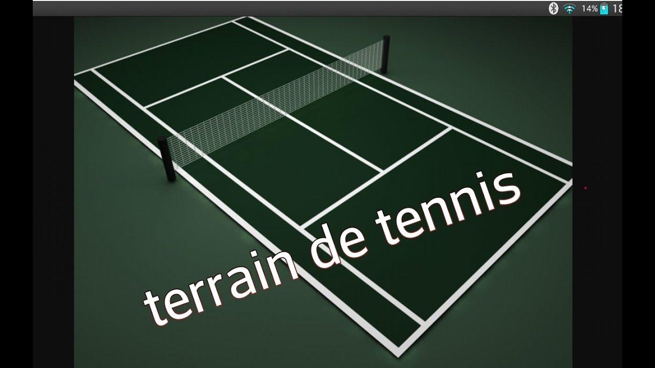 Minecraft: terrain de tennis - YouTube