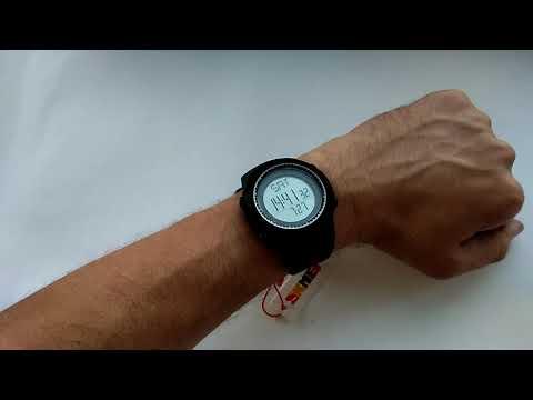 Фитнес часы SKmei 1295 с шагомером, счетчиком калорий. Их обзор, настройка, инструкция на русском