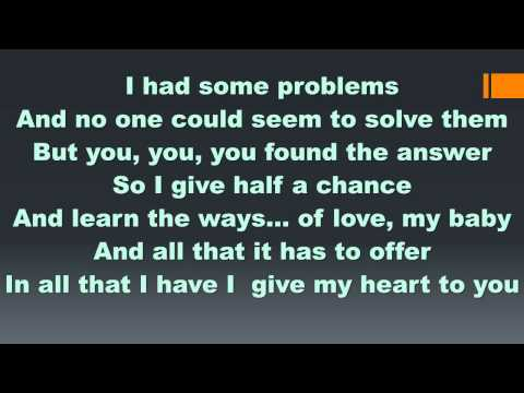 Debarge - All This Love (Lyrics)