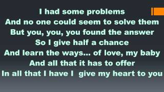 Debarge - All This Love (Lyrics)