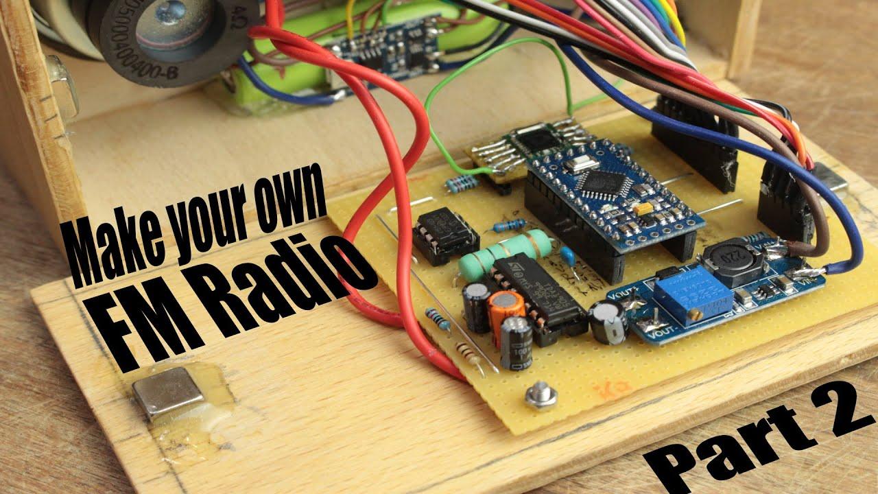make your own fm radio - part 2