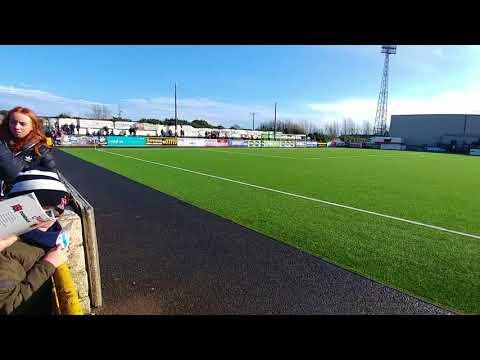 Dundalk V Cork City 2018 President's Cup Entrance