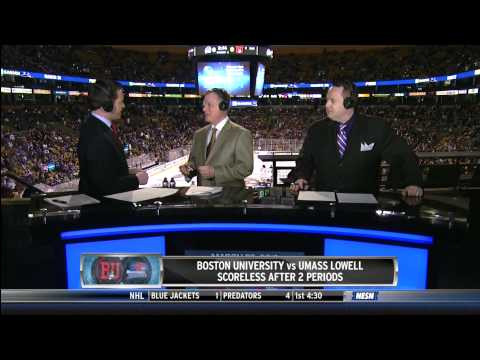Boston University vs. UMass Lowell - Hockey East Championship - 3/23/2013