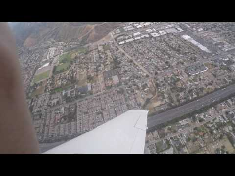 Flying around Van Nuys in a Cirrus SR20