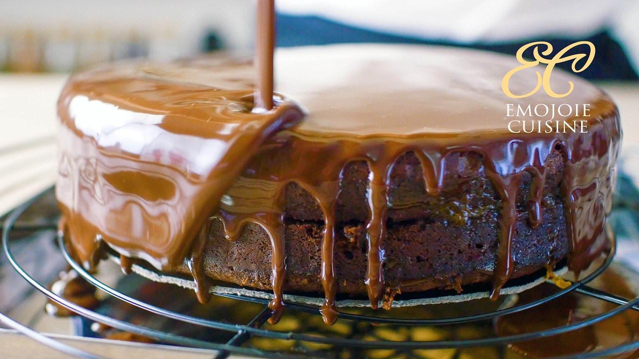 Sacher Torte Austrian chocolate cake recipe - YouTube