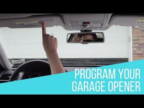How to Program Garage Opener in your Volkswagen
