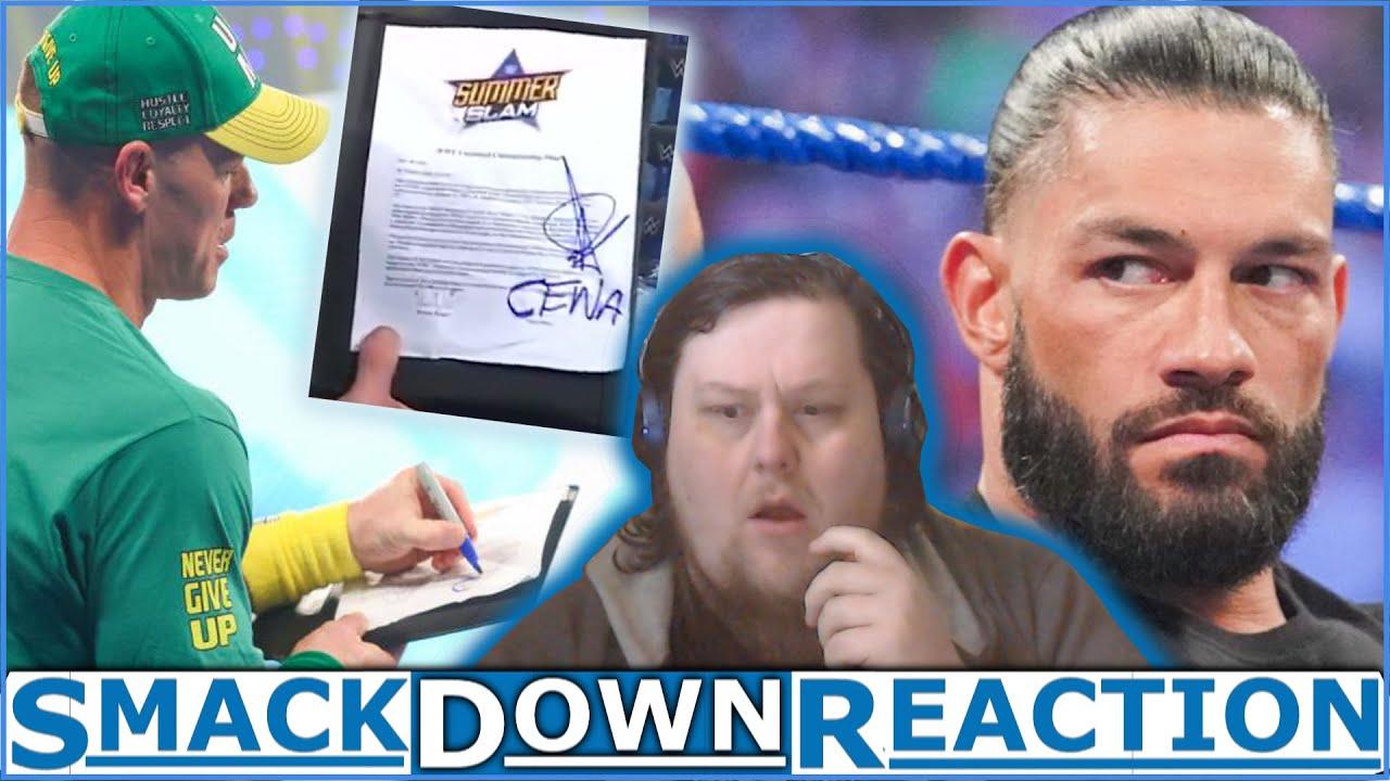 John Cena steals Bálor Summerslam Match against Roman! : Smackdown Reaction : 30.Jul.2021