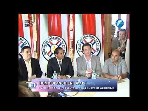 Ramon Díaz y la APF concretan acuerdo por 4 años para desempeñarse como DT - 04/12/2014