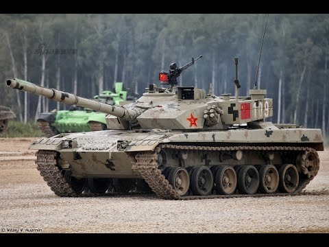 Tank Biathlon Russia T-72B3M Vs China Type96B