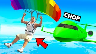 THE MOST DIFFICULT RACE IN THE CLOUDS CHALLENGE GTA 5