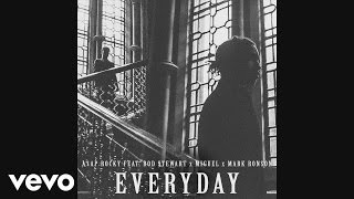 A$AP Rocky - Everyday (Audio) ft. Rod Stewart, Miguel, Mark Ronson(