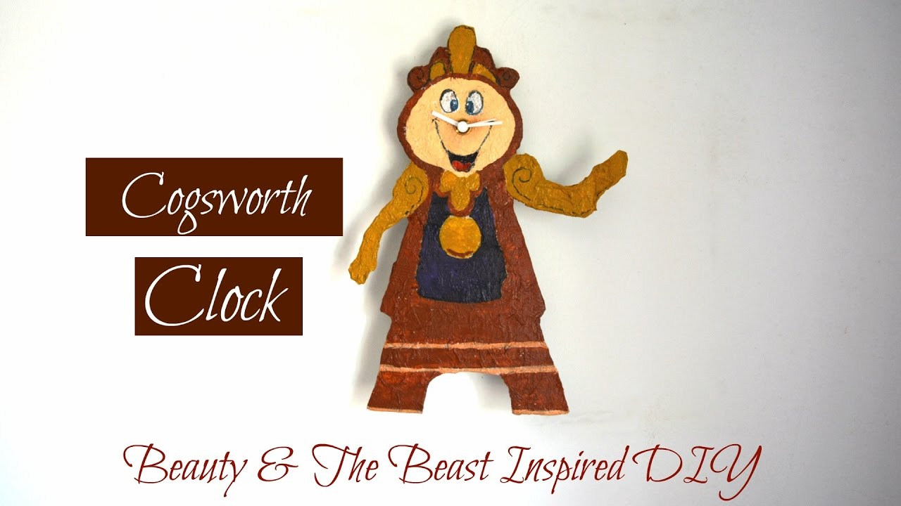 Grab Stylish And Cool Clock From Beauty And The Beast  You'll Enjoy
