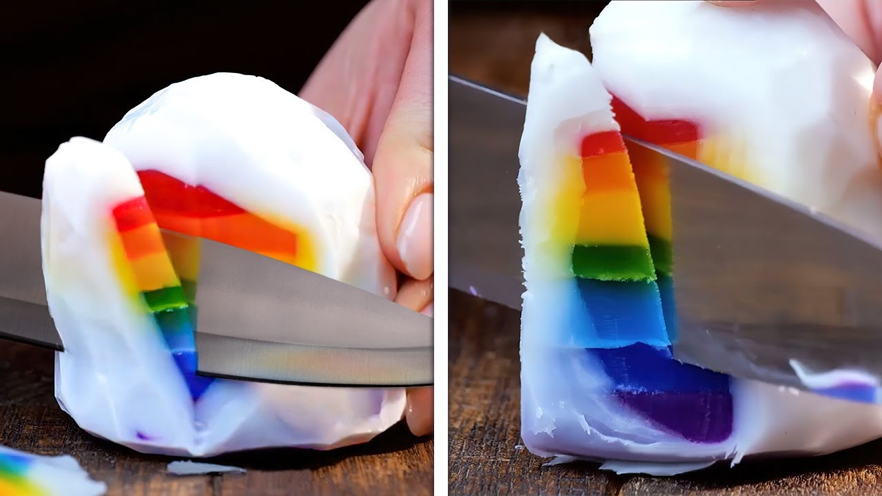 Colorful And Realistic Soap Ideas And Bathroom Hacks You'll Be Grateful For || Relaxing Soap Making
