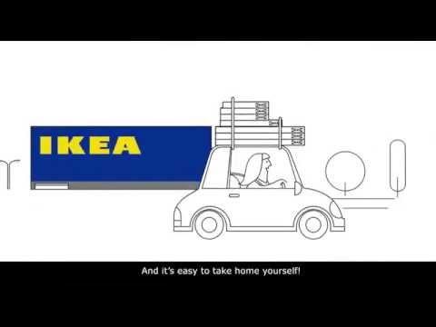 IKEA Flat pack | อิเกีย กล่องแบน