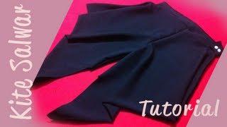 ♥ How to make a kite salwar ♥
