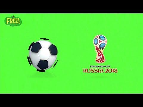 Green Screen FIFA World Cup Russia 2018   Free HD