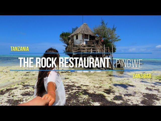 The Rock Restaurant Zanzibar Tanzania
