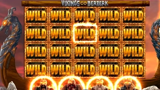 MUST SEE !! Ragnarok Free Spins FULL SCREEN OF WILDS !! (Vikings Go Berzerk - Yggdrasil)