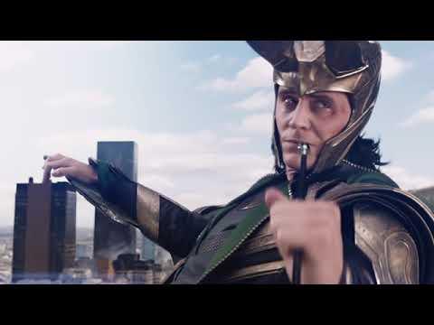 The Avengers - Hawkeye vs Loki ( Funny phase)