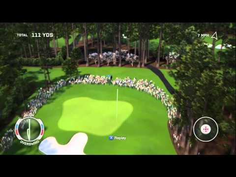 Tiger Woods 13 Career Gameplay Walkthrough Part 1 - Masters Amateur - Round 1