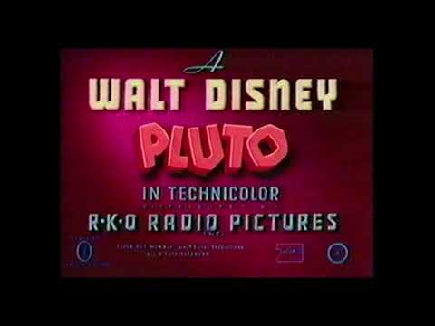 Pluto – Pluto's Housewarming (1947) – original RKO opening titles