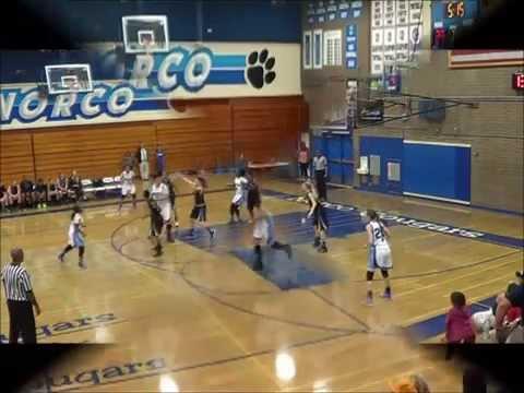 Lindsay Kilgore Norco High School Girls Basketball Highlights 14-15