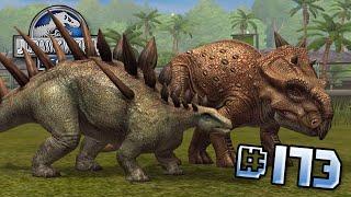 PACHYRHINOSAURUS & KENTROSAURUS!!! || Jurassic World - The Game - Ep 173 HD