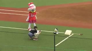 岡田さん初スタメン! ファンクラブ会員によるリレー対決、果たしてどち...