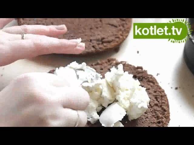Ciasto czekoladowe z serem - KOTLET.TV Travel Video