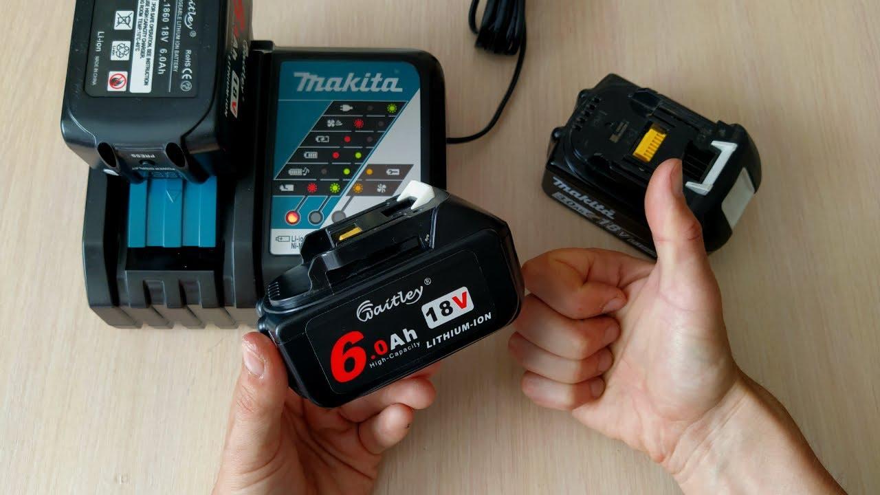 СТОИТ ЛИ ПОКУПАТЬ? Аккумулятор из Китая для электроинструмента Makita. BL1860 на 18 вольт