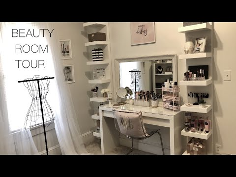 Beauty Room Tour