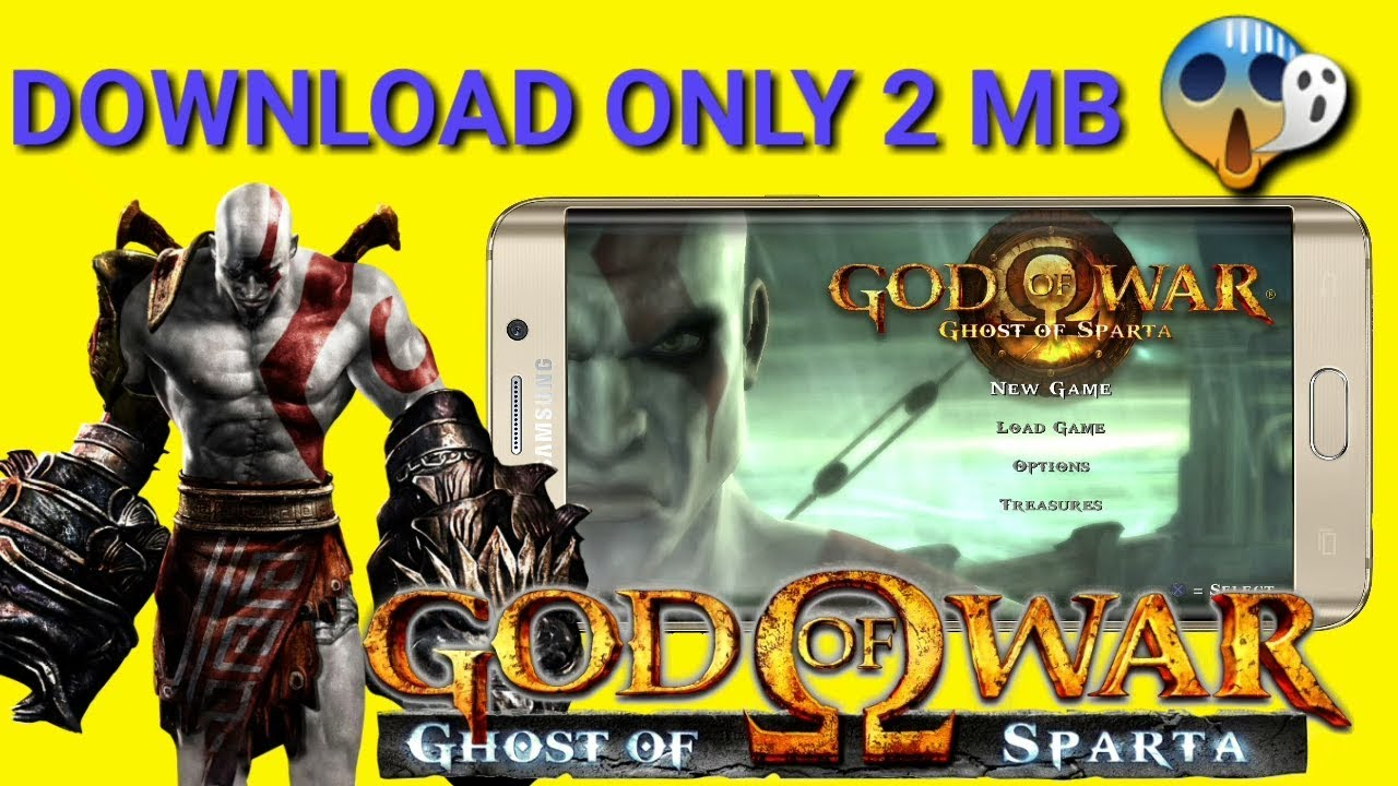 ( 2 MB ONLY ) How to Download God Of War : Ghost Sparta    High Compressed     For Android