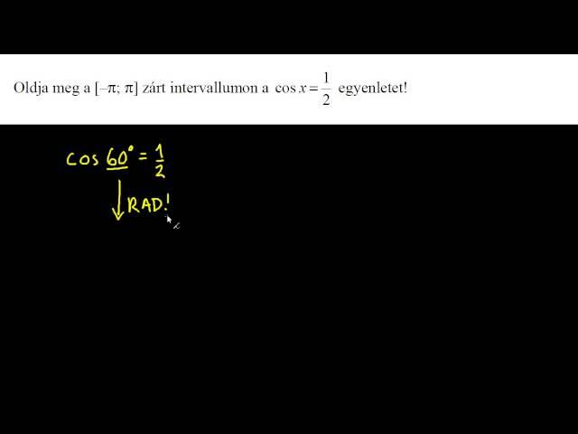 3. feladat - Szögfüggvények