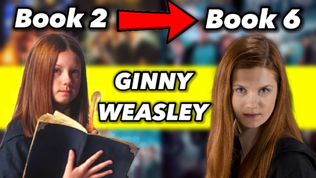 Download How Ginny Weasley Changed The Most in The Harry Potter Books (+ Harry and Ginny's Relationship)