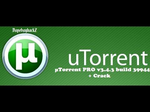 µTorrent PRO v3 4 3 build 39944 2015