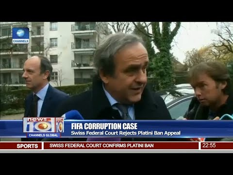 News@10: Swiss Federal Court Rejects Platini Ban Appeal 06/07/17 Pt 4