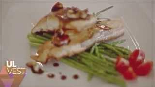 ULVESTI - Приятного вкуса! жареный лосось со спаржей под ореховым соусом