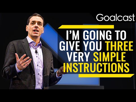 A 5-Second Experiment That Tells You How Powerful You Feel | Daniel Pink | Goalcast