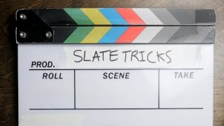 8 Video Production Slate Tricks(Do you use a video slate for your productions? Here are 8 tricks I've picked up over the years to make slate use a more productive task. Looking for more of a ..., 2016-11-08T15:32:58.000Z)