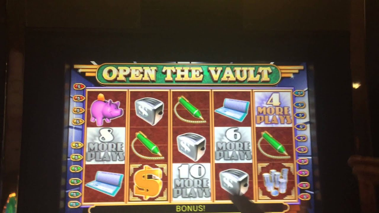 Open the vault slots online