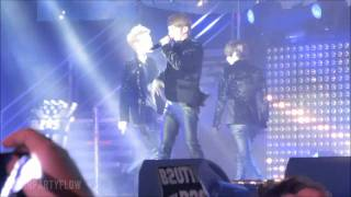[MUSIC BANK LIVE IN PARIS 020812] BEAST - 숨/SHOCK [MEDLEY] + FICTION