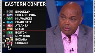 Chuck Talks About The Nets, Sixers & Bucks - Inside the NBA | April 8, 2021