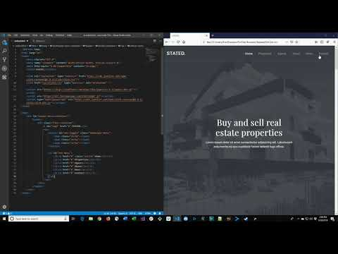 How To Build A Real Estate Web Page - HTML5, CSS3, JavaScript Tutorial!
