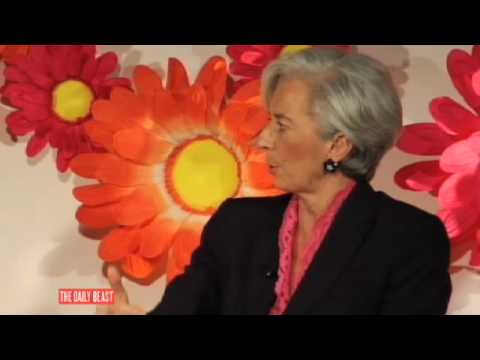 Christine Lagarde: Never Imitate the Boys!