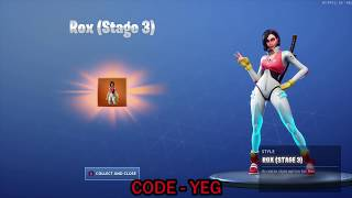 "Tenue ""ROX STAGE 3"" sur Fortnite Battle Royale"