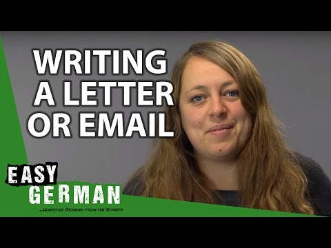 Phrases for writing a Letter or Email - German Basic Phrases (9)