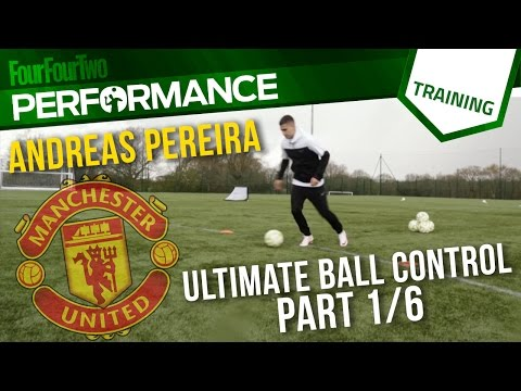 Andreas Pereira | How to improve ball control | Part One | Soccer Drill