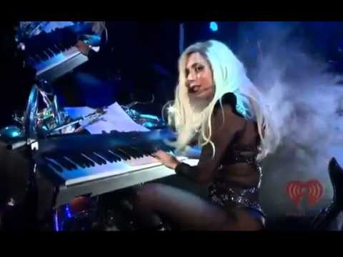 Lady Gaga - Hair (Jamey Tribute) (Live At IHeartRadio 2011)